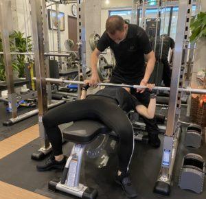 マンツーマントレーニングDreinnoの体験トレーニングイメージ